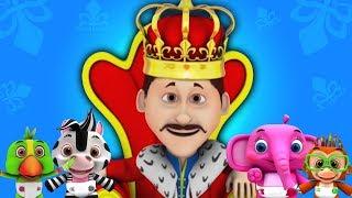 старый король Cole | детские стишки | Kids Song | Old King Cole