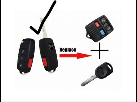 How To Program Chip Key Amp 2 Fob Remotes For Ford Youtube
