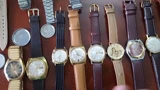 7/1/2019. Bán 6 đồng hồ (Nhóm lên dây cổ Thụy sỹ thân hợp kim inox) (Nhật bãi) Toàn 0947350055
