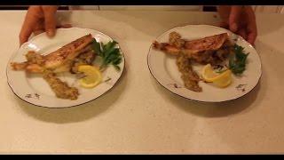 Морской окунь под горчично-яблочным соусом. Фитнес рецепт.