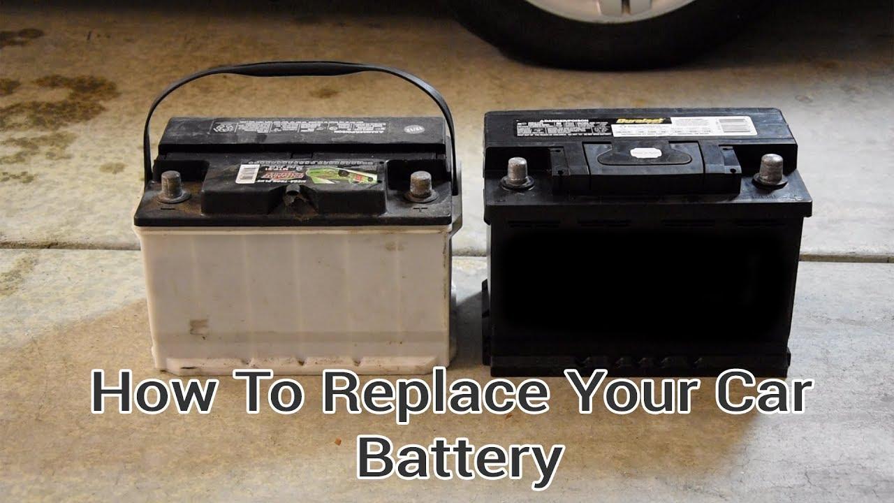 How To Change A Car Battery Vw Pat V6 Audi 1 8t Tom S Garage Fix