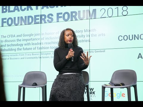 Black Fashion Founders Forum at Google NYC