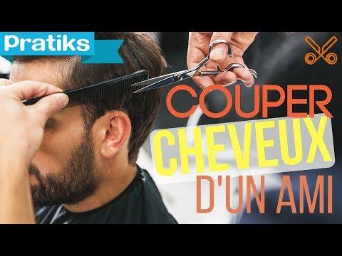 Comment couper les cheveux à un ami - YouTube