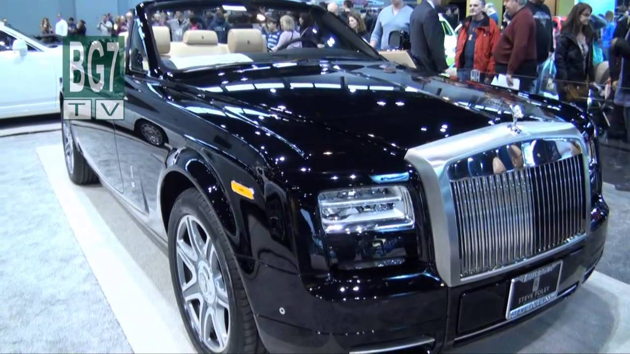 Chicago Auto Show 2013 High End Luxury Cars Youtube