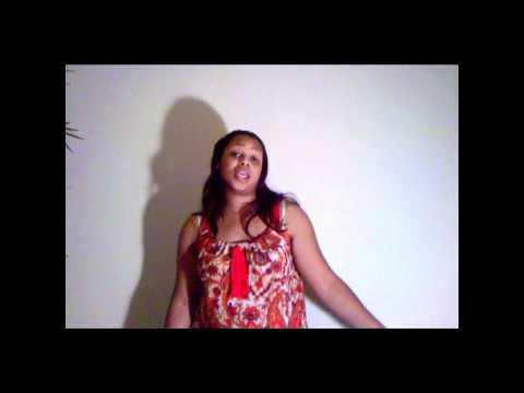 Miss Megan Singing Kandi Leave You (Cover)