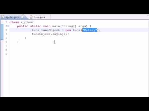 Java Programming Tutorial - 17 - Constructors