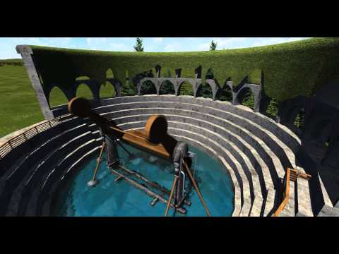 Physics Based Huss Top-Spin Test    Nolimits 2