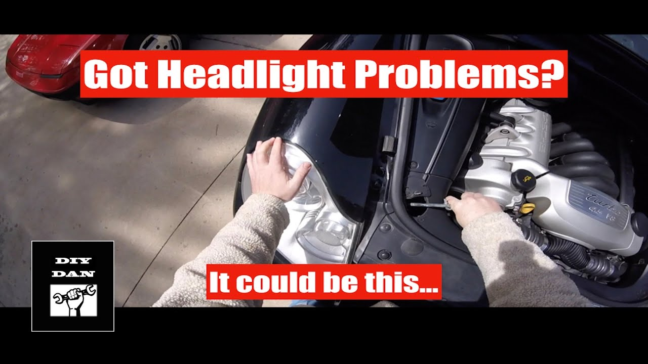 small resolution of porsche cayenne replacing the headlight wiring harness diy dan
