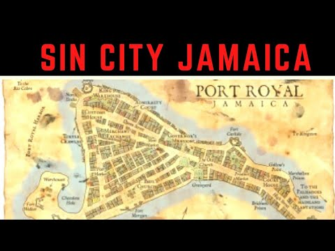 PORT ROYAL JAMAICA ( The wickedest city on earth)