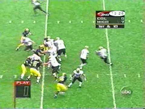 1997: Michigan 27 Colorado 3