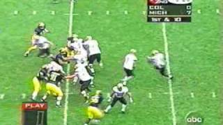 1997: Michigan 27 Colorado 3