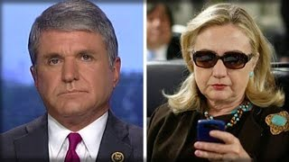 THIS IS MASSIVE! WATCH HOMELAND SECURITY CHAIRMAN MAKE HILLARY GASP WITH 1 WORD