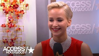 Jennifer Lawrence: What Amy Schumer Said To Her Before Taking The Globes Stage | Access Hollywood