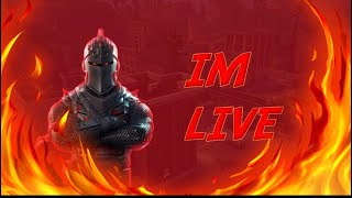 'LIVE' (GETTING MY ALT ACCOUNT TO CHAMPION LEAGUE)(Fortnite Battle Royale)(Code:V3NOM-RyGuy)