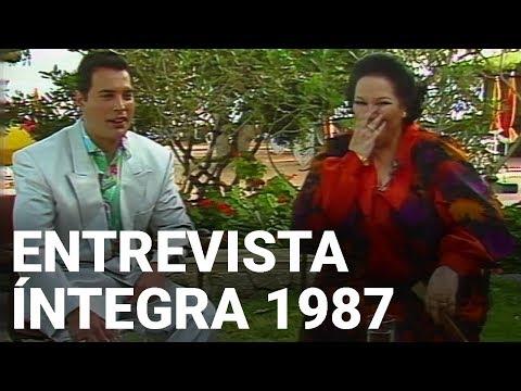 Freddie Mercury y Montserrat Caballé ENTREVISTA ÍNTEGRA 1987 SUBTITULADA