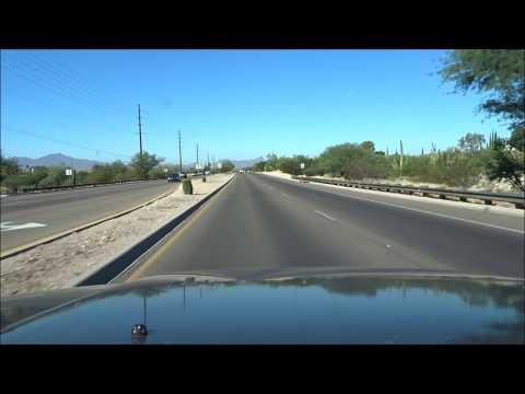 Road Trip from Tucson, AZ to Phoenix, AZ I-10 West