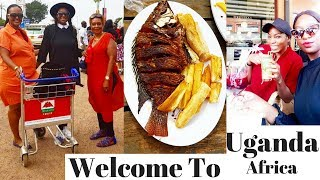 Uganda Vlog 1| Arriving home, Tilapia Fish at the lake, Valentine's day.....