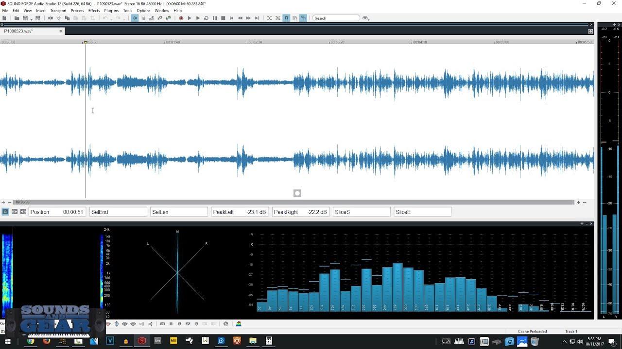 Resultado de imagen para MAGIX SOUND FORGE Audio Studio 13