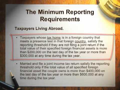 New IRS Amnesty, FATCA & FFI Reporting