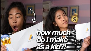 my first youtube paycheck how to make money on youtube 2018