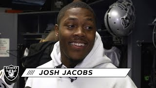 Josh Jacobs Knows There Are Always Things to Improve On | Raiders