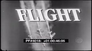 FLIGHT - THE DERELICT - B-47 4018 82710