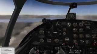 The beauty of X-Plane 10: a small Khamsin's B-25 sample. Flying over Scotland.