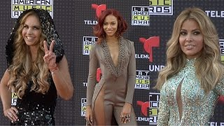 Gloria Trevi, Lucero,  Chiquis // Latin American Music Awards 2015 ARRIVALS