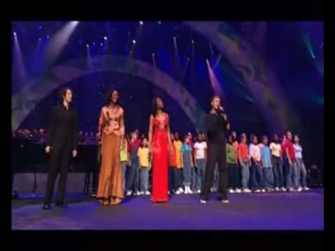 Celine Dion & Some singers - Aren't they all our children (Live World Childeren Day)