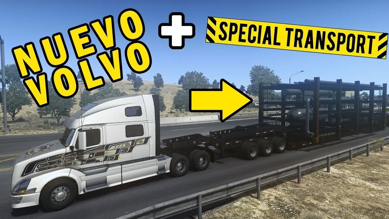 🔴 DLC Special Transport + Volvo VNL 780 | American Truck Simulator