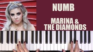 HOW TO PLAY: NUMB - MARINA & THE DIAMONDS