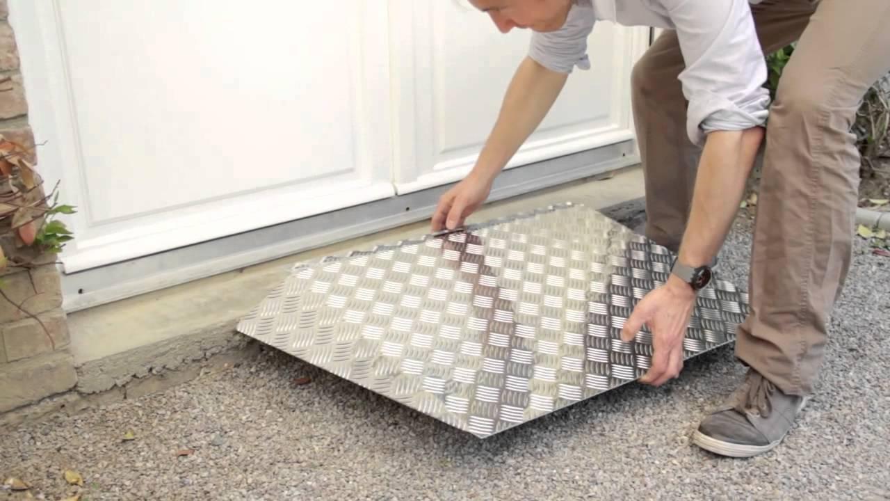 Rampe de seuil en aluminium youtube - Leroy merlin seuil de porte ...