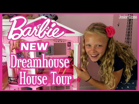 NEW Barbie Dreamhouse  House Tour by Baby Gizmo