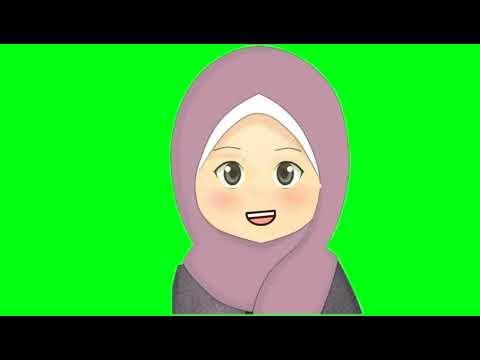 Animasi Green Screen Kartun Berbicara Youtube