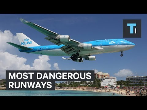 5 of the most dangerous runways in the world.