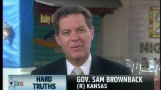 Republican Governor Sam Brownback Admits Romney