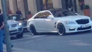 Звук Монстра !!!Mercedes Benz s63 amg LORINSER !!!