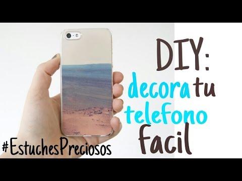 DIY: DECORA TU TELEFONO MUY PROFESIONAL/ Sebastian Villalobos
