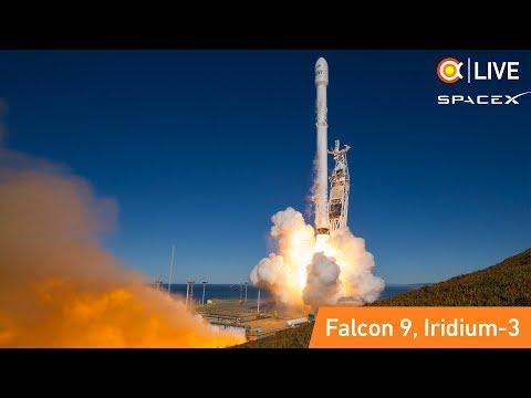 Трансляция пуска Falcon 9 (Iridium-3)