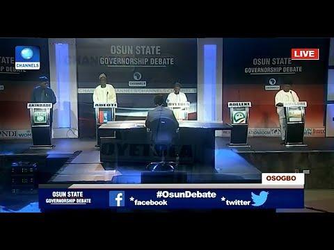 Osun Governorship Candidates Disagree On Zoning Arrangement