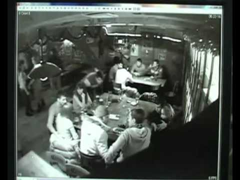 Убийство у бара Канзас (Саратов) Видео с камер.