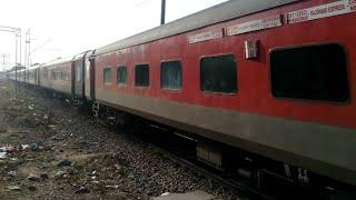 New Delhi Bhubaneswar rajdhani express passing Tilak bridge