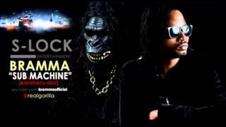 BRAMMA - SUB MACHINE [KONSHENS DISS] S-LOCK ENTERTAINMENT [NOV 2013] MAD WORLD RIDDIM @DJ-YOUNGBUD