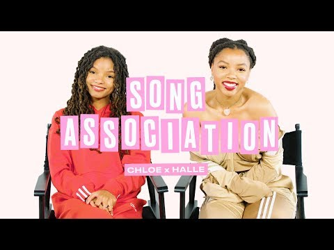 Chloe x Halle Sing Beyoncé Lady Gaga and Tamia in a Game of Song Association  ELLE