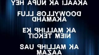 Dharavi Rap lyrics(Ye apun ka ilaka)