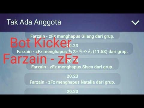 Cara Membuat Bot Kicker Di Line Tanpa Pc Menggunakan Android Youtube