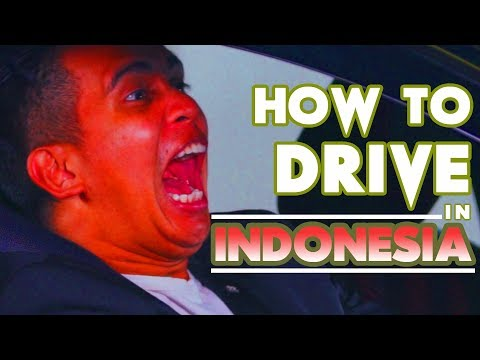 How To Drive In Indonesia