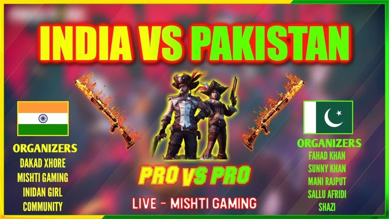 INDIA VS PAKISTAN    QUALIFIER ROUND    PRO VS PRO CUSTOMS