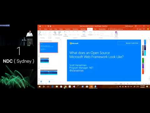 What does an Open Source Microsoft Web Framework Look Like - Scott Hanselman