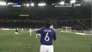 サッカー2010日本対中国東アジア選手権